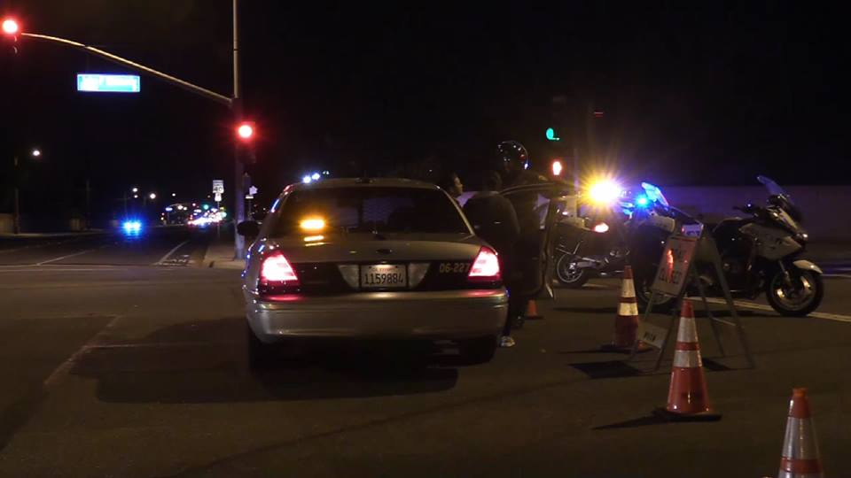 Numerous sheriff's officials responded to the hit and run collisions. William Hayes photo